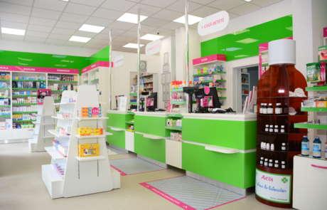 Proiect amenajare farmacia - Arta Farm (Accesoria | Divizia Pharma)