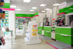 Amenajare farmacie Arta Farm - proiect Accesoria Divizia Pharma