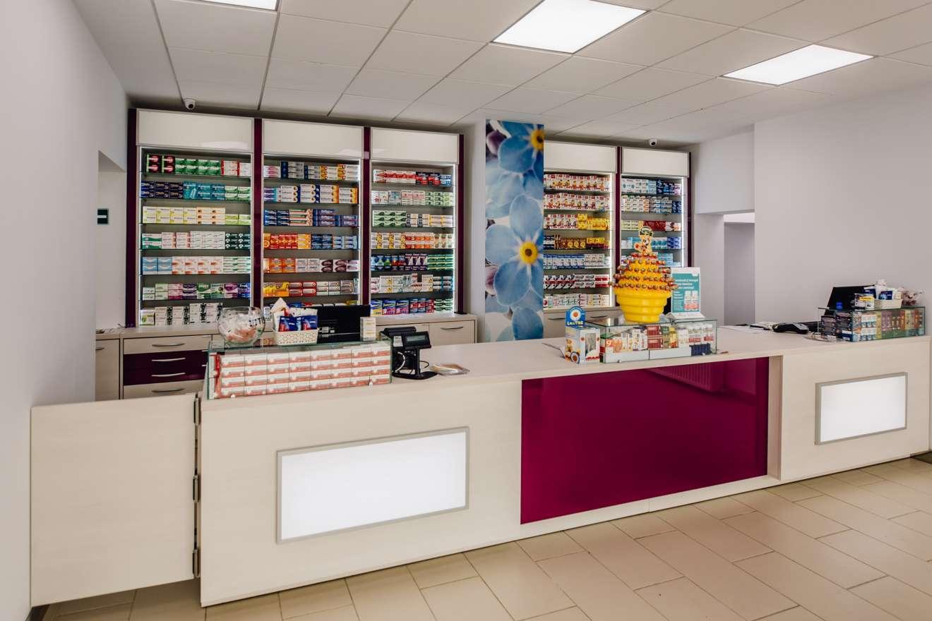 Proiect amenajare farmacia Myosotis