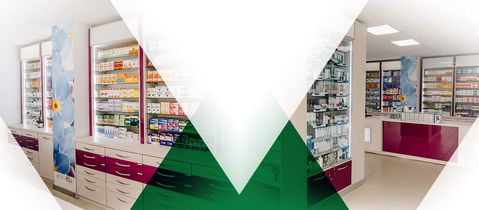 catalog proiecte amenajare farmacie